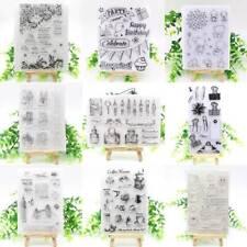 Transparente Klare Stempel DIY Scrapbooking Schreibwaren Foto Album Dekoration