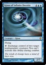 MTG Magic C13 - Djinn of Infinite Deceits/Djinn tromperies infinies, English/VO