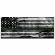 Armed Forces Flag US Military Art Camo Wall Decor Modern Army Artwork