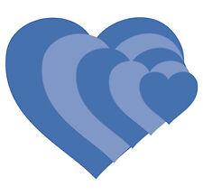 Nesting Hearts Kaisercraft Decorative Die for Cardmaking,Scrapbooking, etc