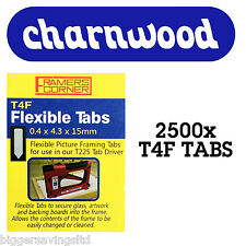CHARNWOOD T4F 2500 FLEXIBLE TABS FOR T225, T220, C306 & C325 TAB DRIVERS