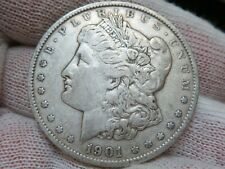 1901 P Silver Morgan Dollar