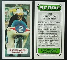 Motorcycling - MIKE HAILWOOD - Champions of World Sport UK sports trade card