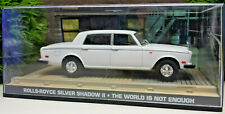 James Bond 007 Rolls Royce Silver Shadow II The World is not enough 1:43 OVP