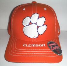 reputable site 9e26a 5a541 Clemson Tigers New Orange Adjustable Strap Back Hat NCAA Cap