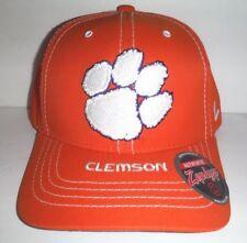 reputable site 8b221 93e17 Clemson Tigers New Orange Adjustable Strap Back Hat NCAA Cap