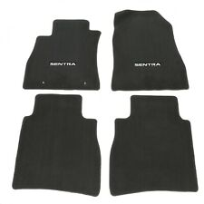 Coverking Custom Fit Front Floor Mats for Select Nissan Pulsar NX Models Black Nylon Carpet