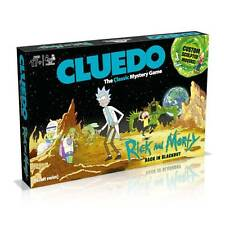 Cluedo Rick And Morty Edition Mystery Board Game by Winning Moves & Adult Swim