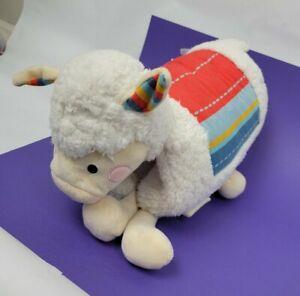 """FAO Schwarz Llama Pillow Plush Alpaca Lamb Doll Realistic 15"""""""