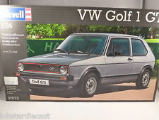 VOLKSWAGEN GOLF Mk1 GTi 1/24 scale plastic kit by REVELL