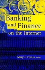 Banking and Finance on the Internet (Internet Management Series) by