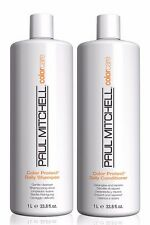 Paul Mitchell Color Care Protect Shampoo & Conditioner Liter DUO (2 x 33.8 oz )
