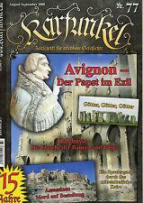Karfunkel Zeitschr. f erlebbare Geschichte 77/08 Avignon - Der Papst im Exil