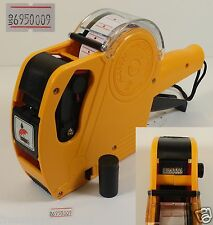 8Digits 1Line Price Tag Gun Labeler Mx-5500+Free Ink