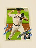2021 Topps Baseball Base Card #112 - Justin Verlander - Houston Astros