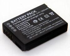 3.7V DMW-BCG10E Battery For Panasonic Lumix DMC-TZ19 DMC-TZ20 DMC-TZ22 DMC-TZ25