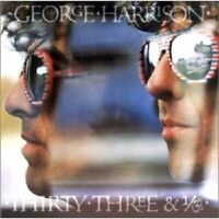 GEORGE HARRISON - THIRTY THREE & 1/3  CD  11 TRACKS POP / PSYCHEDELIC ROCK NEW