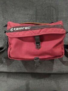 Vintage 80s Tamrac Model 603 Camera Bag Canon Nikon Fuji DSLR SLR Lens-Bridge