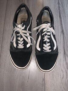 Vans Shoes Black Size 6