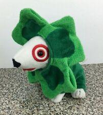 Target Shamrock Bullseye 2014 Plush Dog  Numbered 1270 Of 2350 Green Stuffed