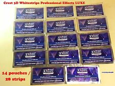 Crest 3D White Luxe Professional Effects - 20 Whitestrips ,Pack of 2