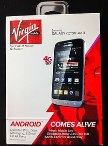 Samsung Galaxy Victory 4G LTE Virgin Mobile Smartphone Phone New Android