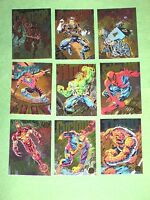 1994 Marvel Universe SERIES 5 POWERBLAST 9 CARD RAINBOW INSERT SET! CARNAGE!