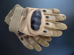 Tactical Work Gloves Reinforced Safety Motorbike Building Garden Bike (M) RRP£25