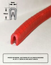 Small RED rubber car edge trim UNIVERSAL FIT BEST PRICE ON EBAY
