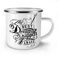 Best Dreams Happen NEW Enamel Tea Mug 10 oz | Wellcoda