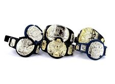 WWE Jakks Championship Belts Lot Wrestling Figure Accessory IC Winged Eagle_s98