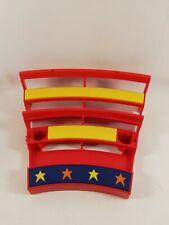 Playmobil pièce détachée cirque Romani plaque des trapèzistes 3720 ref ee
