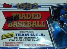 Cromos de béisbol de coleccionismo originales Temporada 1992