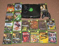 Microsoft Xbox 8 GB Schwarz Konsole + 6 Spiele. Megapaket.