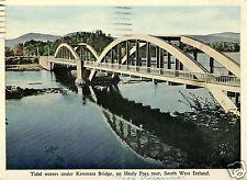 BRIDGES, TIDAL WATERS UNDER KENMARE BRIDGE ON HEALY PASS TOUR SOUTH WEST IRELAND