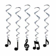 Musical Note Whirls 5 Piece Rock Star Party