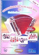 Steirische Harmonika Noten : 30 Volkstümliche Schlagerhits 2  leMittel Griffschr