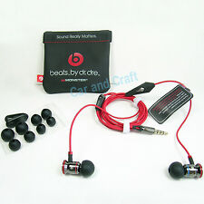 Genuine Monster Beats by Dr. Dre iBeats Headphone Earphone iPhone 5 6S Original