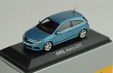 Vauxhall Astra GTC Light Blue Metallic Promo 1:43 Minichamps