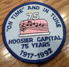 Girl Scouts Vintage Uniform Patch On Time And In Tune Hoosier Capital 1917-1992