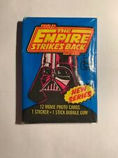 One - 1980 Topps Star Wars Empire Strikes Back Series 2 Unopened Wax Pack