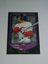 2017 Topps Museum ** PURPLE **  #5 Mookie Betts SSP #D 99/99 = 1/1 LAST ONE MADE
