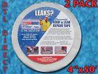 "2 PACK Eternabond RV Roof & Leak Repair Tape 4"" x 50' Roll - White, Authentic"