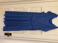 Boden womens dress blue EUC US 10R