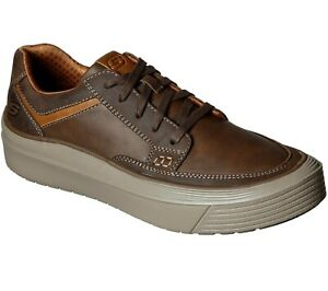 Men's SKECHERS Viewport Valence Oxford Shoes, 210128 /CDB Multiple Sizes Brown