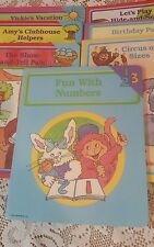 Lot 7 Early World of Learning Books World Book Educational Toddler Books 1987