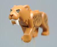 LEGO Sabertooth Cat Tiger Animal Minifigure bb787c03pb01 City Set 60193