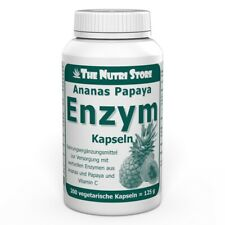 Ananas Papaya Enzym Kapseln 200 Stk. mit Vitamin C - PZN: 00647724