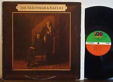 "JAN AKKERMAN & KAZ LUX ""Eli"" RARE EXC 1976 1st Prs ATLANTIC LP Dutch Jazz Fusion"