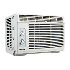 Danby 5000 BTU Window Air Conditioner, Cools up to 150sqft w/2 Fan Speeds, White